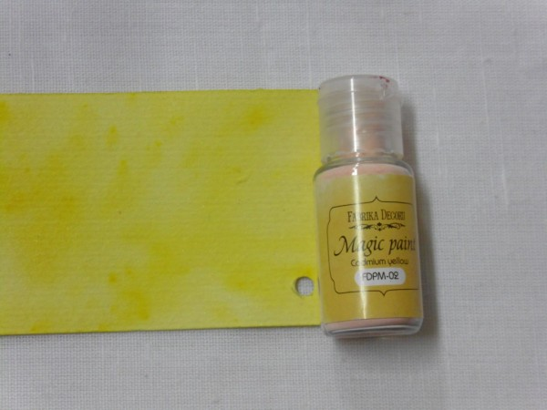 pigmento magic paint cadmium yellow fdpm02